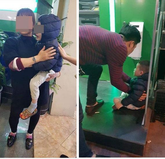 Cộng đồng mạng phẫn nộ với người mẹ trẻ bỏ con ở cây ATM giữa đêm rét, đoán nguyên nhân do cãi nhau với chồng?-3
