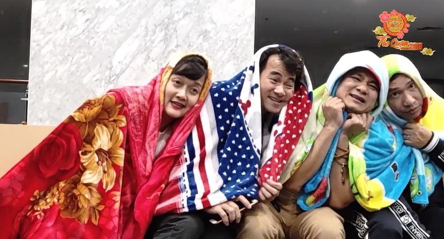 HOT: Lộ clip hậu trường tập luyện cười ra nước mắt của Táo Quân 2019-2