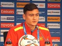 Đặng Văn Lâm tự tin trả lời báo chí châu Á bằng tiếng Anh