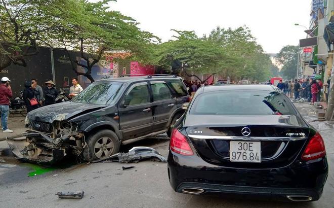 Danh tính tài xế lái xe điên gây tai nạn trên phố Ngọc Khánh khiến cụ bà tử vong-1