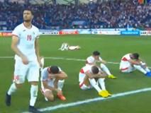 Cầu thủ Jordan thi nhau khóc như mưa vì gục ngã trước Việt Nam
