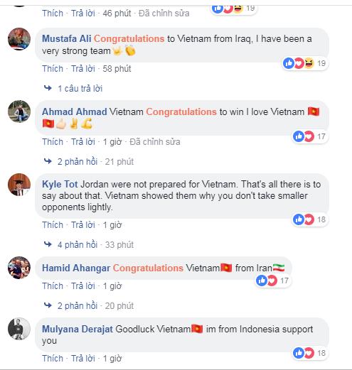 Sau chiến thắng nghẹt thở để giành vé vào tứ kết, CĐV khắp châu Á gửi chúc mừng nồng nhiệt đến đội tuyển Việt Nam-5