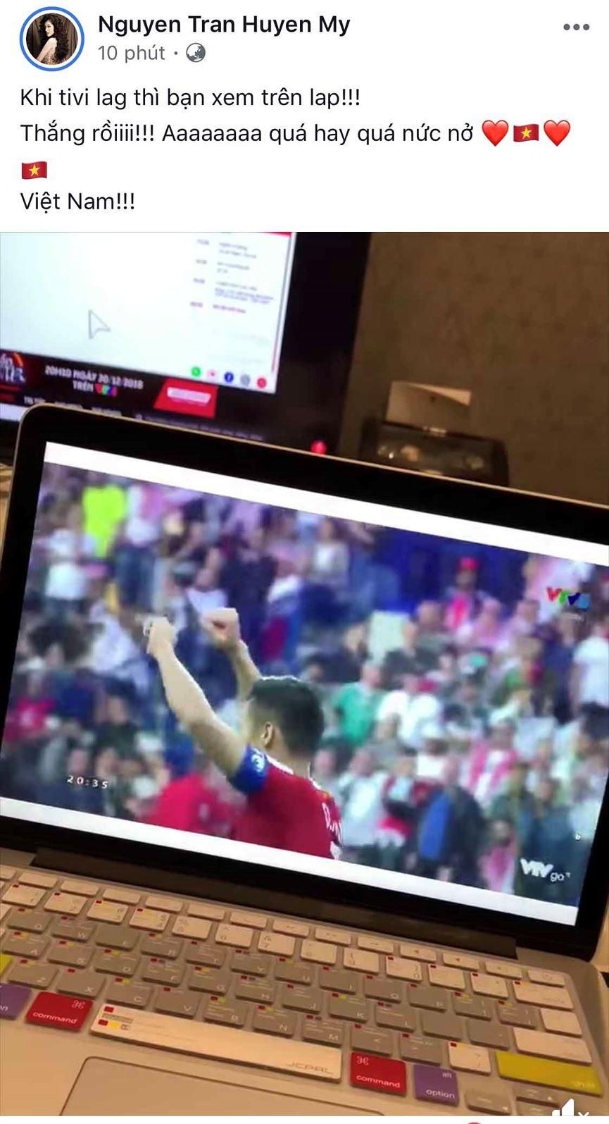 Dàn Hoa hậu, Á hậu đau tim, vỡ oà khi Việt Nam thắng Jordan-3