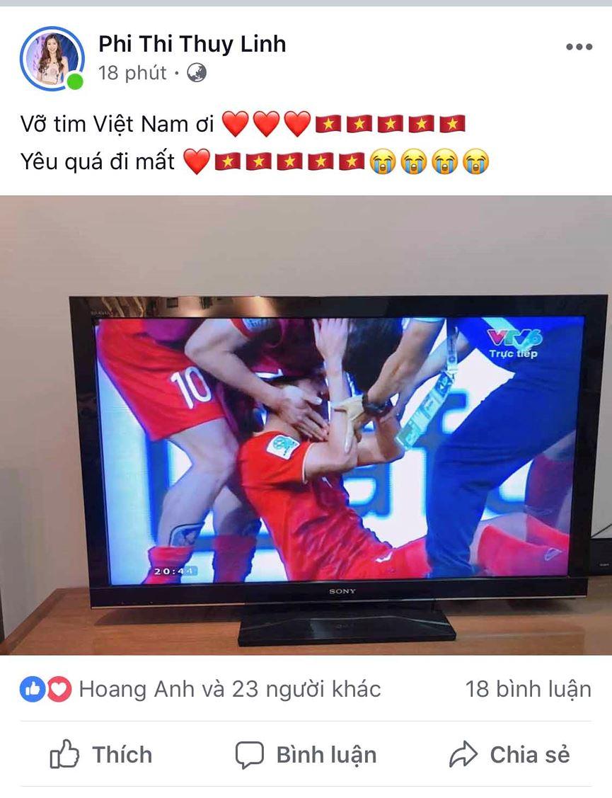 Dàn Hoa hậu, Á hậu đau tim, vỡ oà khi Việt Nam thắng Jordan-4