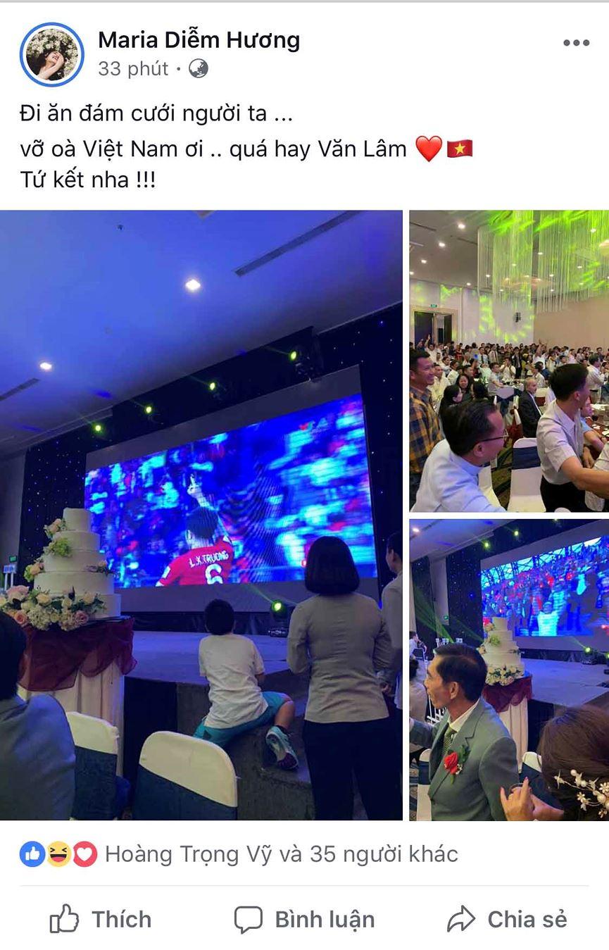 Dàn Hoa hậu, Á hậu đau tim, vỡ oà khi Việt Nam thắng Jordan-5