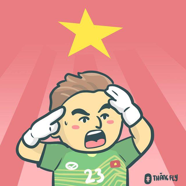 Dân mạng chế ảnh hài hước sau chiến thắng nghẹt thở của tuyển Việt Nam-19