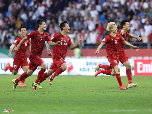 Đội tuyển Việt Nam thống trị bảng xếp hạng từ khóa tìm kiếm trong sáng 21/1-3