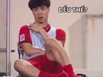 Xuất hiện bài tập sứt mẻ tình đồng đội, fans xem xong chỉ muốn lăn ra cười với Công Phượng, Quang Hải-2
