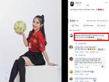 Đăng status chúc mừng đội tuyển Việt Nam nhưng lại