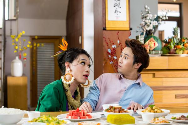 'Bùa ăn' của Quang Trung - Huỳnh Lập chiếm sóng showbiz-1