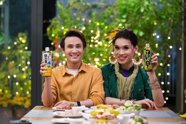 'Bùa ăn' của Quang Trung - Huỳnh Lập chiếm sóng showbiz-3