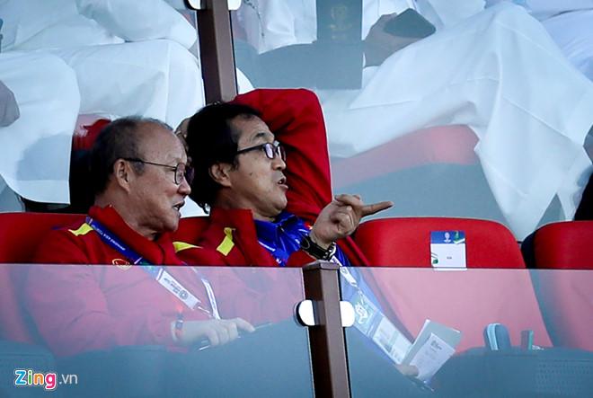 HLV Park Hang Seo cùng 4 trợ lý trực tiếp do thám tuyển Nhật Bản-2
