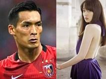 Nhan sắc người vợ khiến hậu vệ tuyển Nhật muốn sinh cả đội bóng