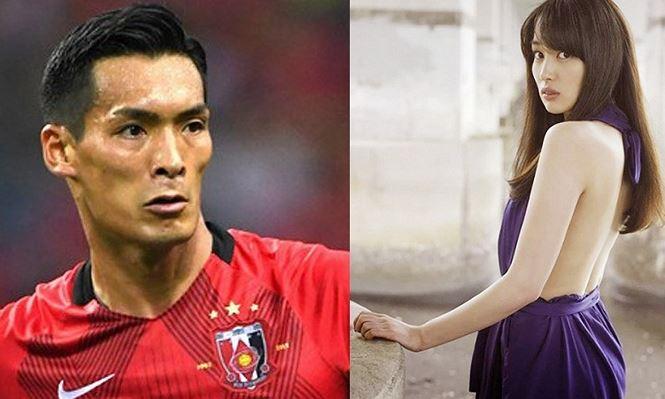 Nhan sắc người vợ khiến hậu vệ tuyển Nhật muốn sinh cả đội bóng-1
