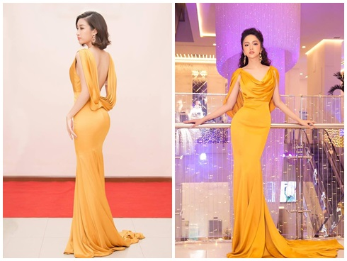 Năm lần đụng hàng là năm lần Đỗ Mỹ Linh - Hương Giang Idol hack não fan xem ai mặc đẹp hơn-6