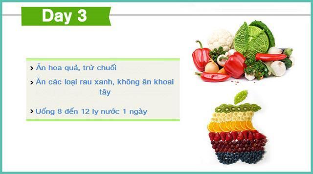 2 thực đơn giảm cân hiệu quả tức thì 8kg trong 7 ngày-3