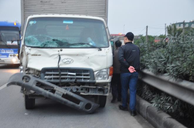 Tài xế lái xe tải đâm 8 cán bộ xã tử vong khai có ngủ gật và dùng ma tuý-2