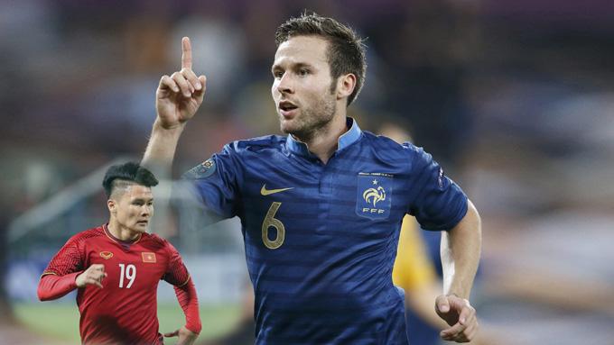 Quang Hải nhận tin nhắn chúc mừng đặc biệt từ ngôi sao bóng đá Pháp gốc Việt từng là Á quân Châu Âu-1