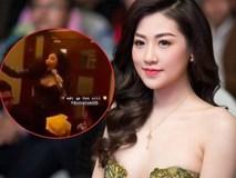 Rò rỉ đoạn clip Á hậu Tú Anh nhảy nhót tưng bừng, trêu đùa chồng khi hát ca khúc của Văn Mai Hương