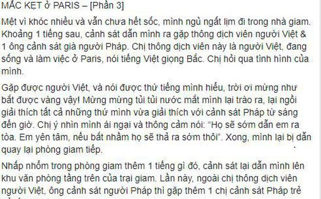 Bộ Ngoại giao thông tin chính thức vụ công dân Việt Nam mắc kẹt ở Paris-1