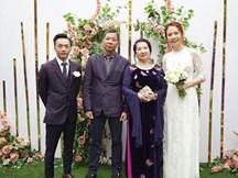 Với nguyên tắc 'ba không, ba biết', Đàm Thu Trang đã khiến mẹ chồng quyền lực rớt nước mắt, cưới hỏi hẳn hoi