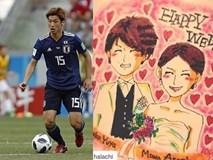 Chân dung siêu mẫu sở hữu cầu thủ đá hay nhất tuyển Nhật Bản