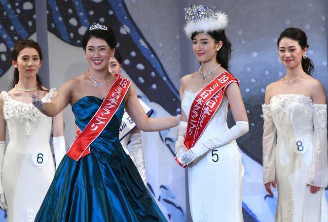 Nhan sắc gây tranh cãi của Hoa hậu Nhật Bản 2019-9
