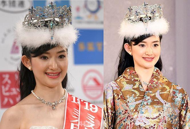 Nhan sắc gây tranh cãi của Hoa hậu Nhật Bản 2019-3