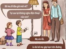 Những mẩu hội thoại đáng suy ngẫm khi con cái và cha mẹ hoán đổi vị trí