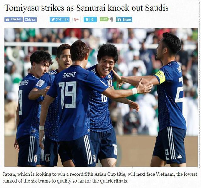 Báo Nhật Bản tỏ thái độ khinh thường tuyển Việt Nam, gọi là đội yếu nhất vòng tứ kết-1