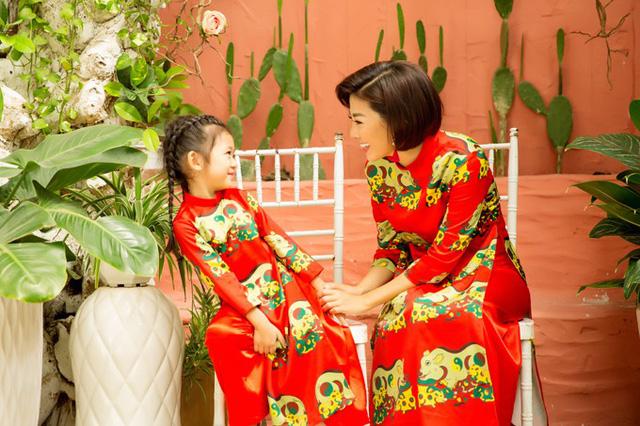 Mai Phương cùng con gái Lavie diện áo dài rạng rỡ đón Tết-8