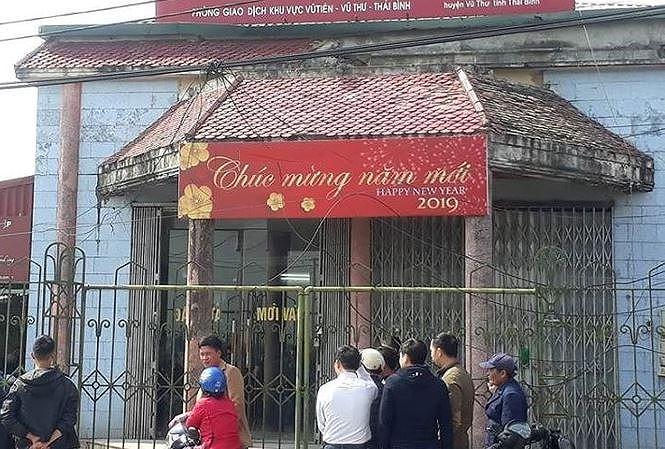 Hé lộ nguyên nhân nghi can dùng hơi cay cướp ngân hàng ở Thái Bình-1