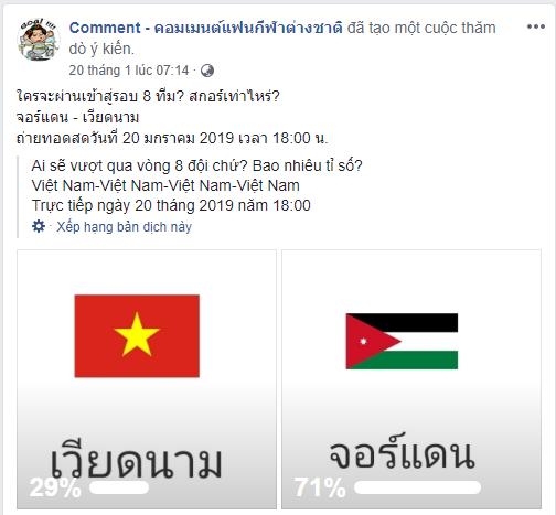 Fan Thái Lan thi nhau cổ vũ... Nhật Bản hạ Việt Nam-1