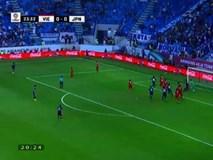 Cận cảnh tình huống công nghệ VAR cứu cho ĐT Việt Nam 1 bàn thua trước Nhật Bản