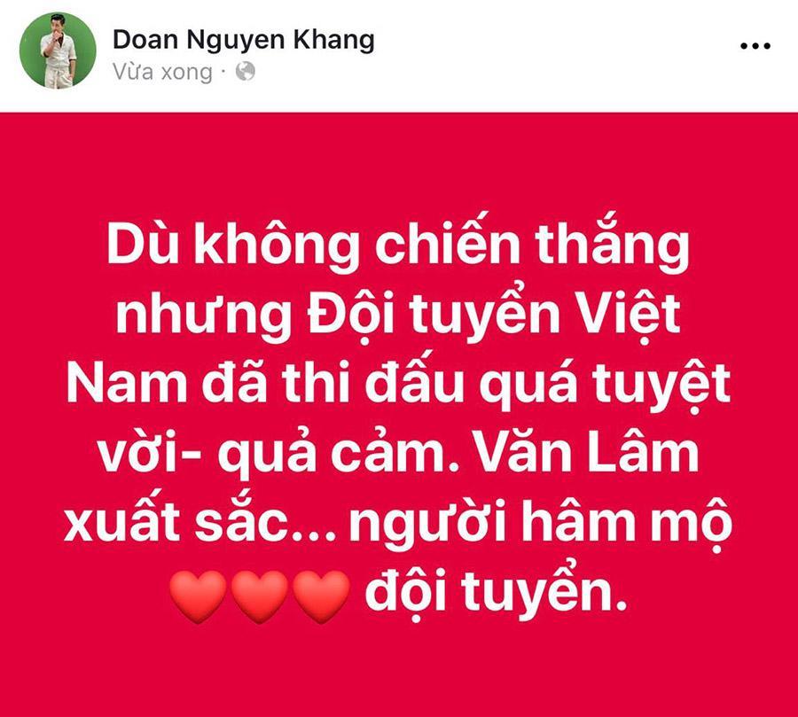 Xuân Bắc nể tinh thần quả cảm, MC Quang Minh bật khóc trước tinh thần chiến đấu của tuyển VN-10