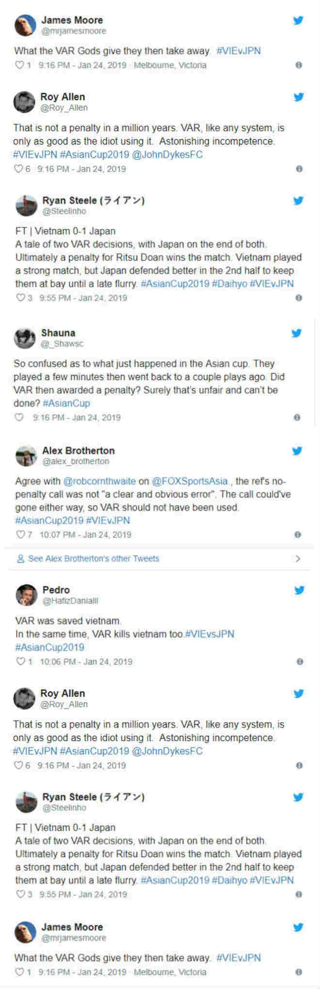 Nhiều người phản đối tình huống VAR dẫn đến bàn thua của Việt Nam-2