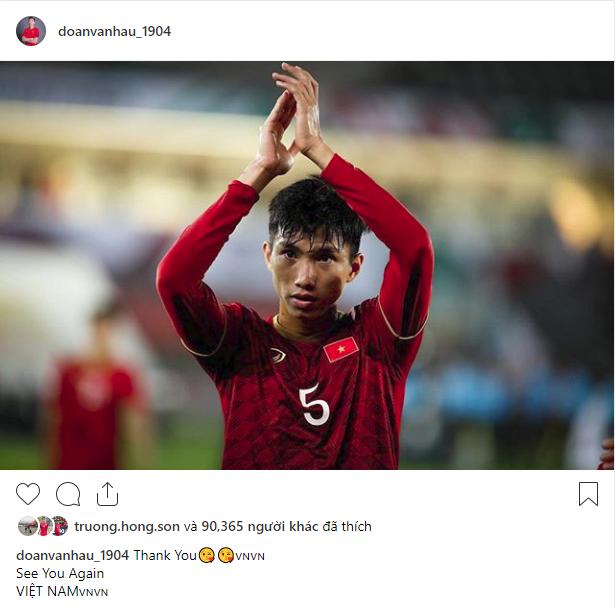 Các cầu thủ Việt Nam chia sẻ gì trên MXH sau màn đối đầu nghẹt thở với Nhật Bản?-4
