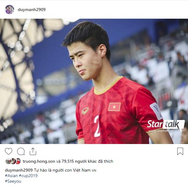 Các cầu thủ Việt Nam chia sẻ gì trên MXH sau màn đối đầu nghẹt thở với Nhật Bản?-5