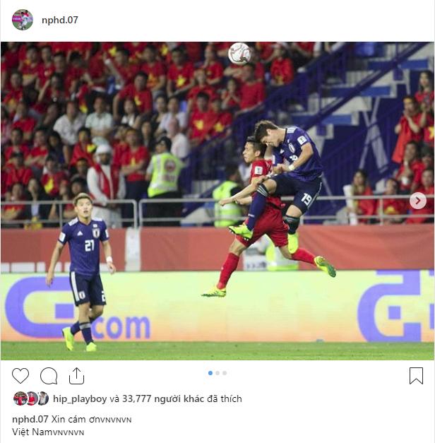 Các cầu thủ Việt Nam chia sẻ gì trên MXH sau màn đối đầu nghẹt thở với Nhật Bản?-6