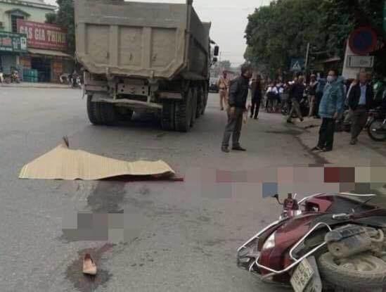 Thiếu phụ mang thai đôi 7 tháng tử vong thương tâm sau va chạm với xe tải-1