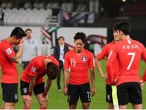 Tuyển thủ Hàn Quốc buồn bã, CĐV suy sụp sau thất bại ở tứ kết Asian Cup 2019