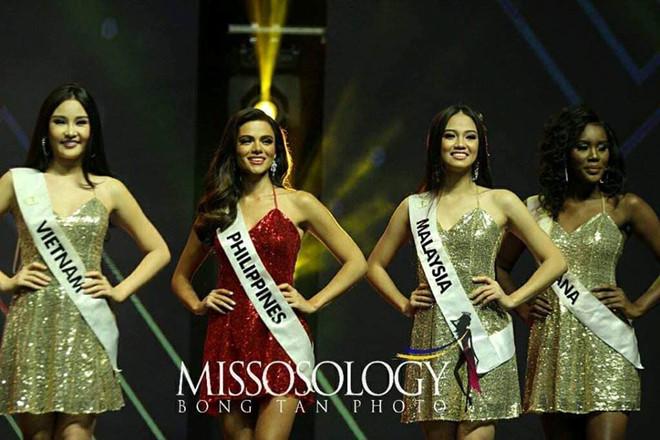 Philippines đăng quang, Ngân Anh đoạt á hậu 4 Hoa hậu Liên lục địa-9