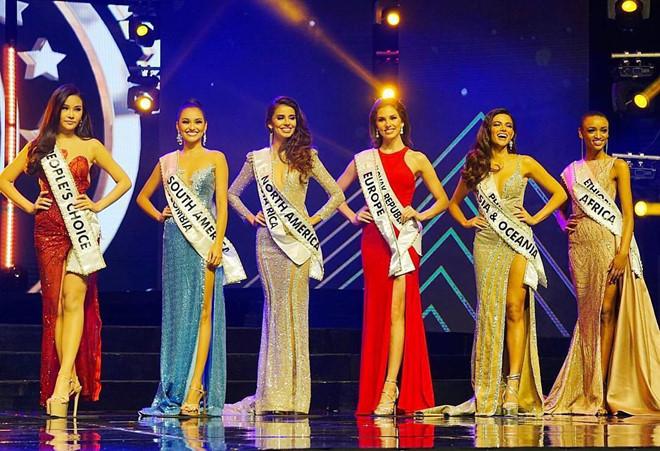 Philippines đăng quang, Ngân Anh đoạt á hậu 4 Hoa hậu Liên lục địa-8