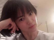 Song Hye Kyo gây choáng với ảnh selfie siêu cận mặt: 38 tuổi mà da bóng mịn không chút nếp nhăn