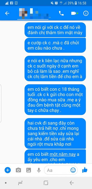 Bồ nhí của chồng ngang ngược, nhắn tin ép người vợ li hôn - chuyện khiến MXH dậy sóng-5