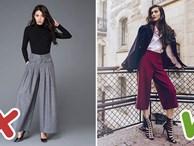 5 lỗi mặc quần culottes mà chị em cần tránh tuyệt đối để không biến mình thành thảm họa