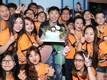 Trấn Thành xúc động khi được fans bí mật tổ chức sinh nhật sớm