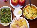 Đầu năm MXH Việt đã tranh cãi vì món ăn tươm tất nhất của cô nàng cực vụng, hễ vào bếp là đứt tay-2