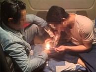 Hãi hùng tài xế xe container mở 'tiệc lẩu ma túy' trên cabin