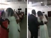 Cô bồ cao tay mặc áo cưới đến làm loạn, chú rể ra sức ngăn cản và thái độ bất thường của cô dâu